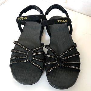 Teva Sandals Black Elzada Teva Lea vegan